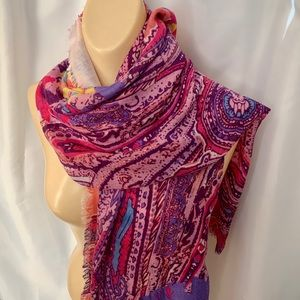 Collection Eighteen Lightweight Multi-Color Scarf